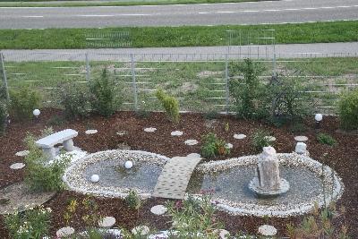 gartengestaltung mit steinen und rindenmulch: anleitung für das, Garten Ideen